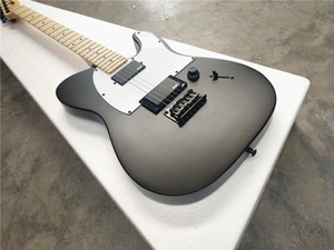 Wholesale guitars for sale - Group buy jim root jazzmaster autograph string electric guitar maple neck Sublight black electric guitar