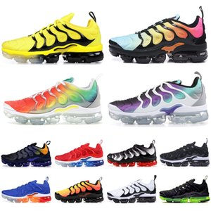 Wholesale Best TN Plus Running Shoes Men Women Wool Grey Game Royal Tropical Sunset Creamsicle Designer Sneakers Sport Shoes Size