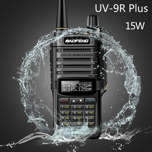 2020 Baofeng UV-9R plus 15w Waterproof Walkie Talkie High Power CB Ham 20KM Long Range UV9R portable Two Way Radio for hunting