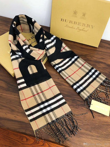 Winter Cashmere Scarf For Women And Men Fashion Double Wear Warm Blanket Scarfs Burbvc Fcgd ErryScarves Cashmere Cotton