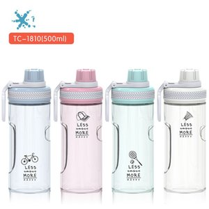 Wholesale Plastic Space Cup Originality PC Water Bottle Portable Motion Tumbler Gift Direct Drinking Spiral Lid Home Travel Hot Sale tcb1