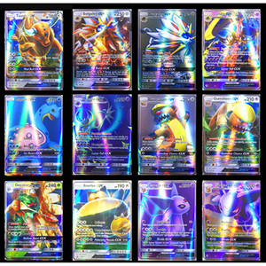 Flash Trading Card XY GX MEGA English Cards EX Charizard Venusaur Blastoise Kids Gift Figures Card Games Toy