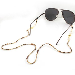 Gold Cross Crystal Beads Chain Eyeglasses Chains Reading Glasses Rope Sunglasses Strap Cord Holder Neck Head Band Accessories