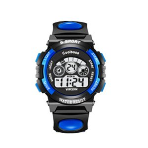 Wholesale Waterproof Boys Girls Children Digital Sports Watches Kids Gift for age Years Old