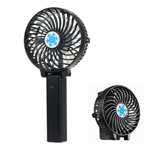 Wholesale Portable Mini USB Fan Foldable Air Conditioning Fans Hand Held Cooling Fan Rechargeable battery not includeAir Cooler