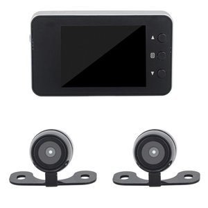 Wholesale HD 12 Million Mini Bike Motorcycles Video Recorder Waterproof Double lens Recorders 1920 x 1080P USB Camcorder Camera