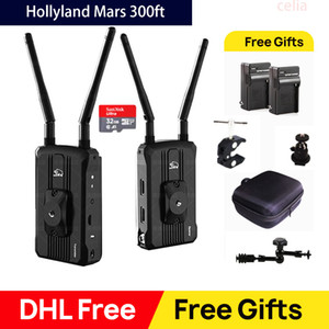 Hollyland Mars 300 300FT Dual HDMI Input Output Transmitter and Receiver Camera Wireless HD Video Transmission System 1080P 60Hz