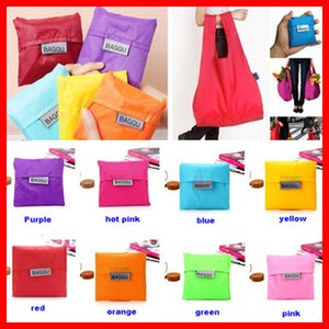 Wholesale Hot Sell Eco Storage Handbag Strawberry Foldable Shopping Bags Reusable Folding Grocery Nylon Bag Large Capacity Home Tote Pouch