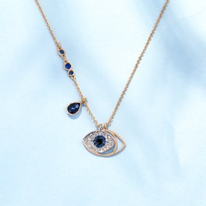 S925 Silver Devils Eye Necklace