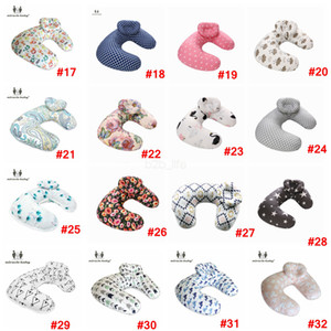 Wholesale infant nursing pillow for sale - Group buy Baby print Nursing Pillows Maternity U Shaped Breastfeeding Pillow Cartoon Crown swan Elk Infant Cuddle Feeding Waist Cusion LJJA2273