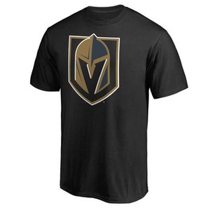 Wholesale #29 Marc-Andre Vegas Golden Knights Fanatics Branded Banner Wave Hockey T-Shirt Primary Logo outdoor Short sleeve Uniform Shirts Logos