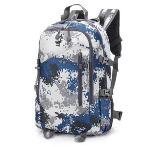 Wholesale Men Large Capacity P Tactical L Outdoor Backpack Hiking Travel Army Fan Camouflage Rucksack Camping Laptop Back pack