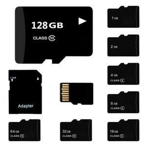5PCS LOT Class 10 TF Flash Memory Card 4GB 8GB 16GB 32GB 64GB 128GB Micro SD Card Class 10 for Cell Phone Camera Tablet PC Free SD Adapter