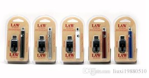 Law Preheating VV Battery Charger Kit 1100mAh n Bud Touch Variable Voltage Vape Battery For CE3 Thick Oil Cartridge