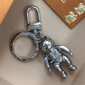 2019 beautiful Robot key chain Luxury Keychain Key Chain Key Ring Holder Keyring Porte Clef Gift Men Women Souvenirs MP2213