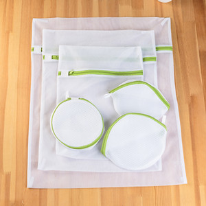 6pcs Washing Machine Specialized Underwear Washing Lingerie Bag Mesh Bag Bra Washing Care Laundry Bag Cleaning Clothing Bags on Sale