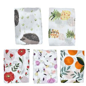 Wholesale Baby Multi function Cotton Blankets Four Seasons Cotton Swaddles Soft Newborn Yarn Blankets Bath Towel Gauze Infant Wrap