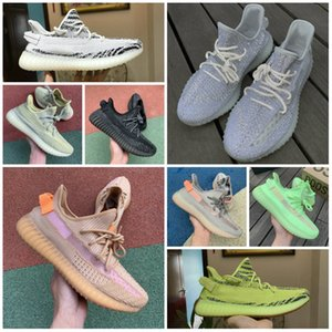 2020 NEW Static 3M Reflective ShOes CHeap Belgua 2.0 Semi Frozen Yellow Shoes High Quality True Form Designer Men WOmen ClAy Casual Sneakers