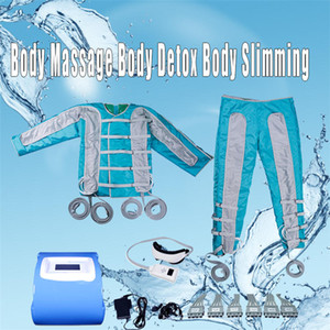 pressotherapy slimming Infrared sauna EMS Electric Muscle Stimulation Lymph Drainage Body machine pressotherapy massage equipment 4 in 1