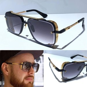 Wholesale New LIMITED EDITION sunglasses men designer metal vintage sunglasses fashion style square frameless UV lens with original case