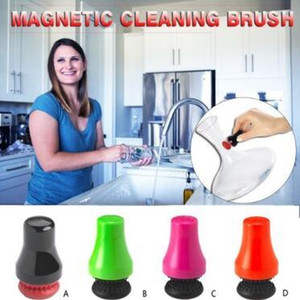 Wholesale clean glasses resale online - Magnetic Spot Scrubber Glass Bottle Cleaner Car Window Aquarium Wall Algae Removal Dual Sided Cleaning Brushes Car Washer CCA11190