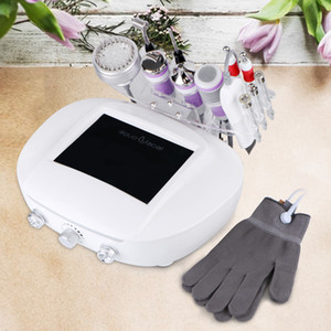 Wholesale Best Galvanic Current Skin Cleansing Lead In Lead Out Diamond Dermabrasion Microdermabrasion Facial Peeling Ultrasonic Massager Magic Gloves