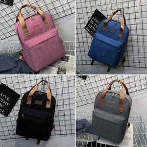 Wholesale Smile Backpack Clutch Women Men Nylon Large Capacity Varies Emotion Casual for Teenager Girls School Bags with Wallet