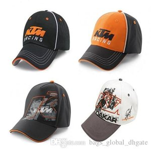 New versatile motorcycle cotton Cap KTM Embroidery Letters Men Women Racing Protective Hats All-match Fashion 4 Colors