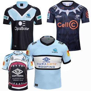 Top New 2018 2019 2020 2021 shark rugby Jerseys Rugby League jersey 19 20 21 shirts 5XL