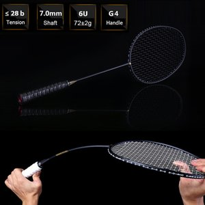 Wholesale Ultralight Badminton Racket u For Sport Contest New Professional Carbon Free Grips And Wristband Badminton Racquet