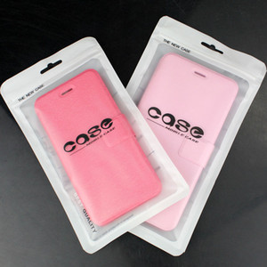 Wholesale White Zip lock Mobile phone accessories case earphone shopping packing bag OPP PP PVC Poly plastic packaging bag