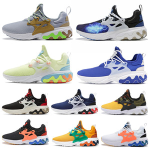 Wholesale React Presto BEAMS men women running shoes DHARMA triple black Breakfast Alternate Galaxy mens trainer breathable sports sneakers runner