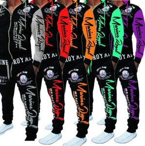Wholesale Mens Designer Tracksuits Fashion Letters Printing Clothing Set Casual Active Man Two Pieces Sents Fashion Sweatshirt Trackpants Styles