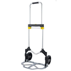 Wholesale folding hand cart resale online - Luggage Hand Truck Heavy Cart Folding Hand Cart Folding Portable Trucks Compact USA Travel Ship Lightweight Duty From Luggage Jeqhu