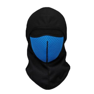 Wholesale Windproof Cycling Face Mask Breathable Thermal Replaceable Filter Cotton Active Carbon Masks Riding Cycling Headwear