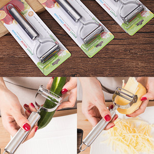 Wholesale kitchen tools for sale - Group buy Multifunctional Stainless Steel Peeler Grater Fruit and Vegetable Tools Peeler Potato Grater Kitchen Tools XD23642