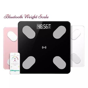 Wholesale Smart Body Fat Scale Electronic Weighing Scale Digital Weight Scale Wireless Bluetooth Tempered Glass Body Composition Monitor Via App