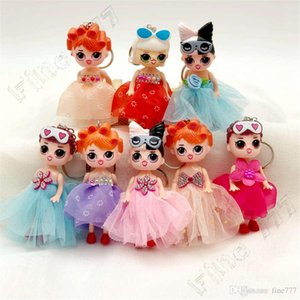 Wholesale Lol doll keychain big eyes cute girl doll keychain lol doll decoration pendant children s day gift