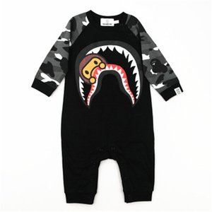 Camouflage Print Breathable 100% Cotton Baby Romper Summer Long Sleeved Toddler Boy Clothes High Quality Kid Clothes