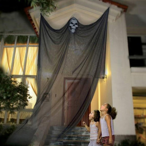 3.3M Long Halloween Hanging Skeleton Flying Ghost Decorations For Outdoor Indoor Party Bar Scary Props Halloween Decoration SH190913