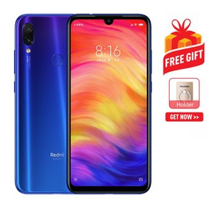 Wholesale Xiaomi Redmi Note 7 48MP Camera 4GB+64GB Global Official Version Dual AI Back Cameras 4000mAh Battery Face ID & Fingerprint Identification