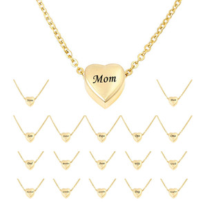 Wholesale funeral urns for sale - Group buy Cremation Jewelry for Ashes Gold Heart Pendant Memorial Necklace Ashes Jewelry Keepsake Funeral Urns Memorial Gift for Women Men Free