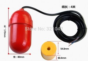 Wholesale 4 Meters Fqs Cable Type Float Level Controller Cable Float Plastic Float Switch Water Level Controller