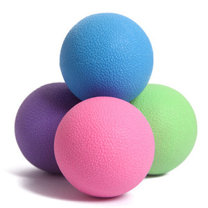 Wholesale lacrosse balls resale online - Fitness Acupoint Massage Lacrosse ball Therapy Trigger Point Body Exercise Sports Yoga Ball Muscle Relax Relieve Fatigue Roller ZZA969