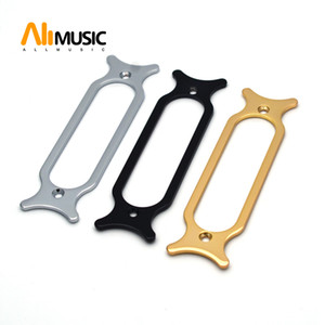 Wholesale pickup parts resale online - Metal Electric Guitar Single Coil Pickup Mounting Ring Guitar parts Chrome Black Gold for Choose