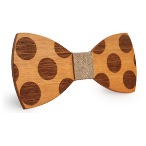 Wholesale Wood Bow Tie Mens Wooden Bow Ties Party Business Butterfly Cravat Party Ties For Men Wood Ties Women