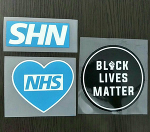 Black Lives Matter Soccer Patch Thank You SHN patch NHS Badge Accept Mix order New arrival for Premier and League Free shipping