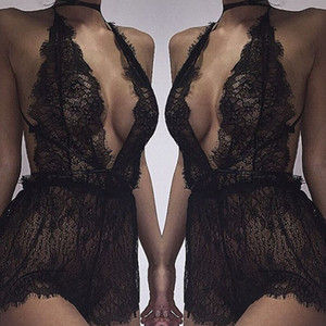 Wholesale women's sexy lingerie for sale - Group buy Sexy Women s Lace Lingerie Nightwear Underwear G string Babydoll Sleepwear Dress