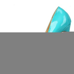 90 Colors Different High Heels Women Pumps Classical Woman Dress Shoes Party Shoes Extra Size 34-45MX190917