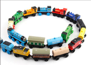 Wholesale Wooden Blocks Trains Model Building Toys Styles Wooden Trains Car Toys EDWONE tOYS DHL